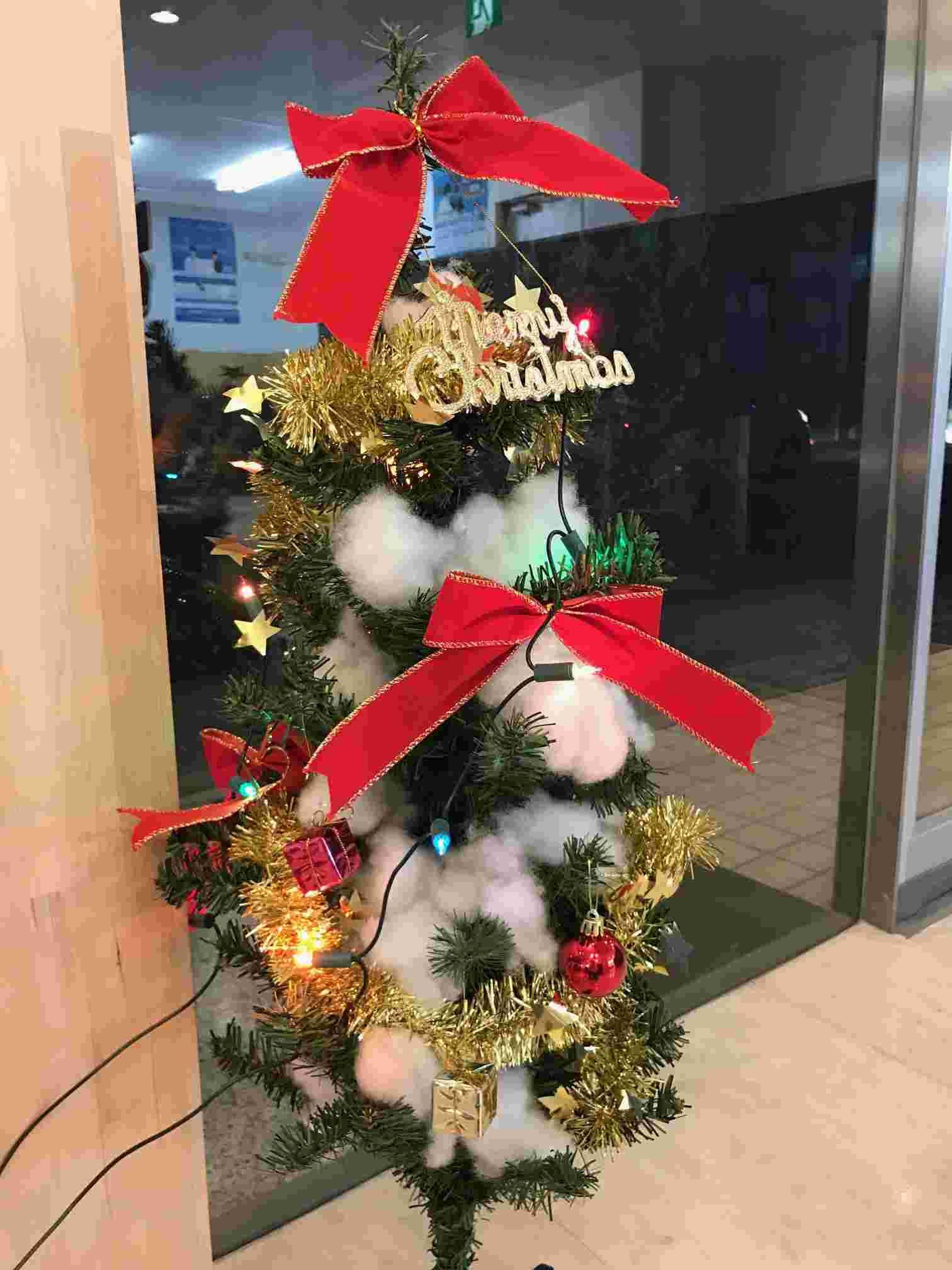 クリスマスの飾りつけをしました・・・その2