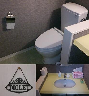 ノーバス小平校のトイレはキレイである。画像